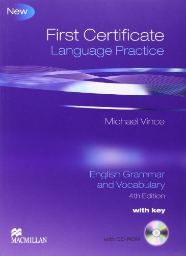 First Certificate Language Practice: Student Book Pack with Key by Vince Michael