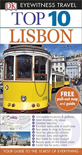 DK Eyewitness Top 10 Travel Guide: Lisbon by Tomas Tranaeus