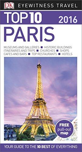 DK Eyewitness Top 10 Travel Guide: Paris by DK Publishing
