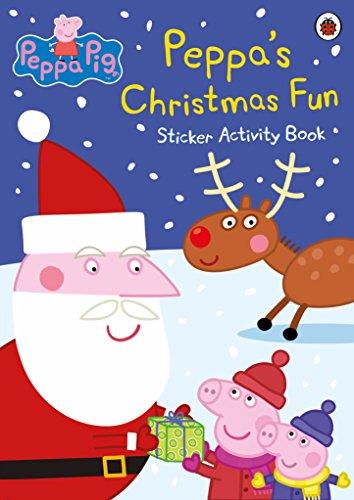 Peppa Pig: Peppa's Christmas Fun Sticker Activity Book by