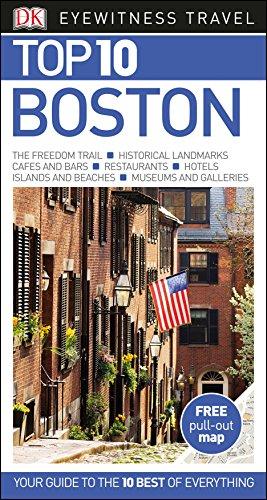 DK Eyewitness Top 10 Travel Guide: Boston by DK