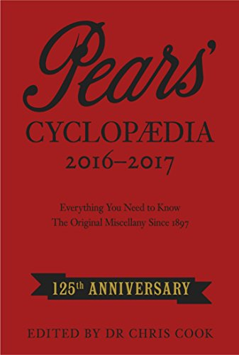 Pears Cyclopaedia, 2016-2017 by Chris Cook