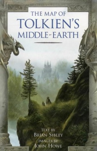 Map of Tolkien's Middle-earth by Brian Sibley