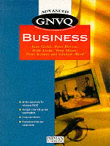 Advanced GNVQ Business by Mike Leake
