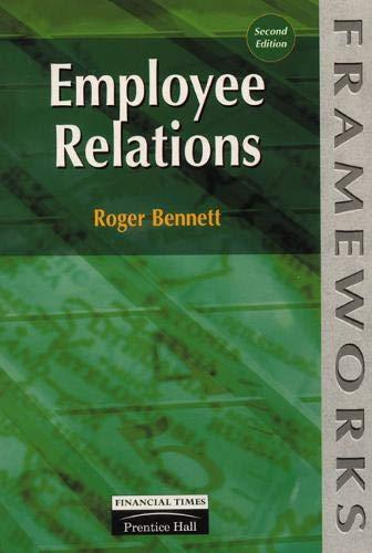 Employee Relations by Roger Bennett