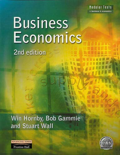 Business Economics by Win Hornby