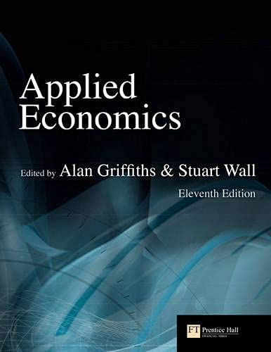 Applied Economics by Alan Griffiths