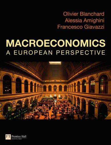 Macroeconomics a European Perspective by Francesco Giavazzi