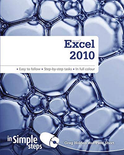 Excel 2010 in Simple Steps by Greg Holden