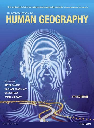 An Introduction to Human Geography: Issues for the 21st Century by Peter Daniels