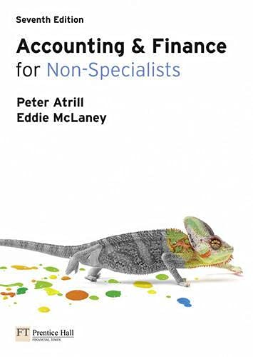 Accounting and Finance for Non-specialists with MyAccountingLab by Peter Atrill