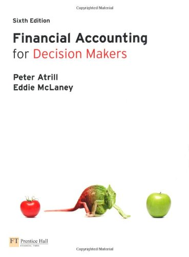 Financial Accounting for Decision Makers with MyAccountingLab Access Card by Peter Atrill