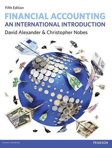 Financial Accounting: An International Introduction by David Alexander