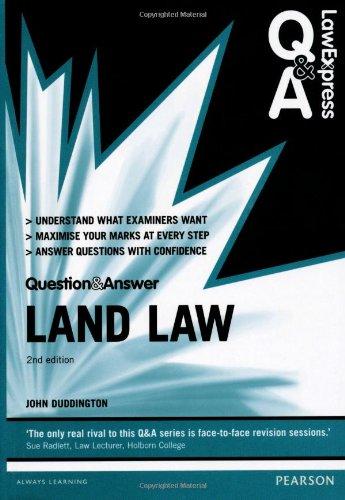 Land Law by John Duddington