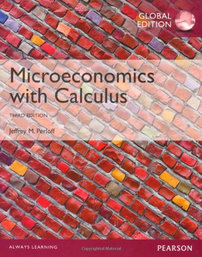 Microeconomics with Calculus by Jeffrey Perloff