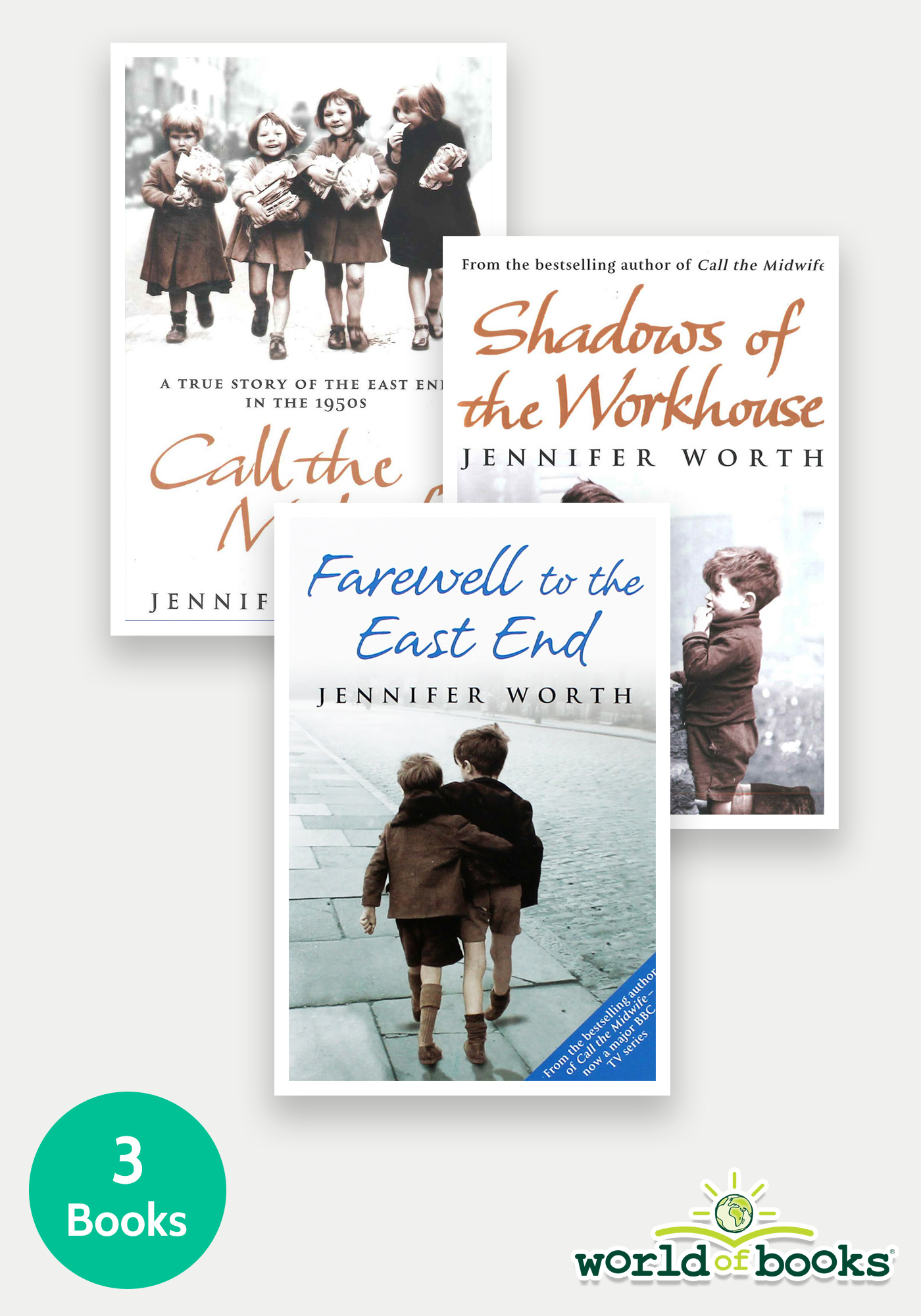 The Midwife Trilogy - 3 Book Bundle