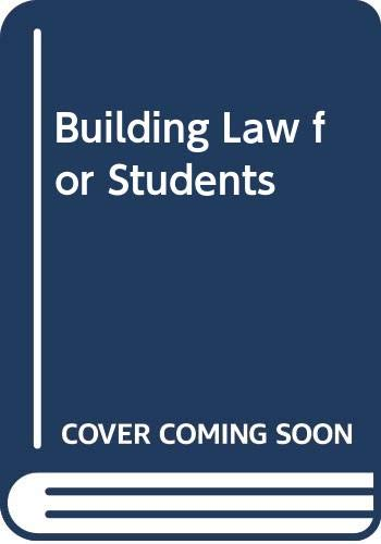 Building Law for Students by Keith Manson