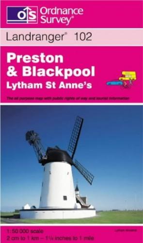 Preston and Blackpool, Lytham St.Anne's by Ordnance Survey