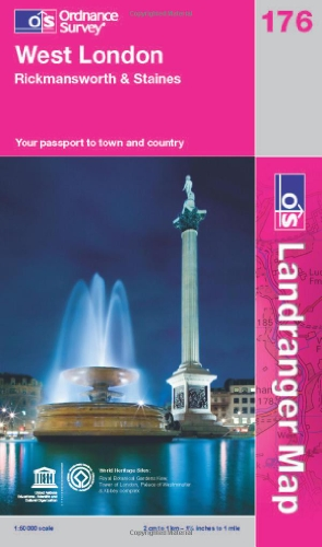 West London, Rickmansworth & Staines by Ordnance Survey