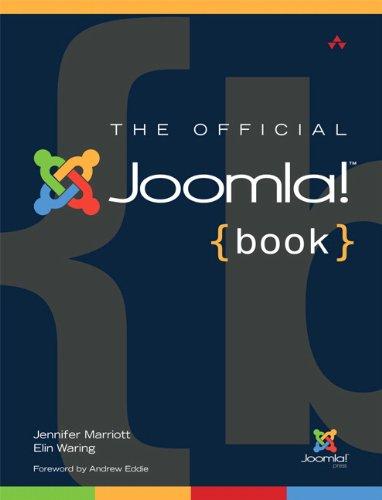The Official Joomla! Book by Jennifer Marriott