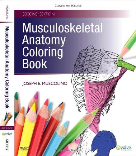 Musculoskeletal Anatomy Coloring Book by Joseph E. Muscolino