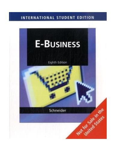 E-Business by Gary Schneider