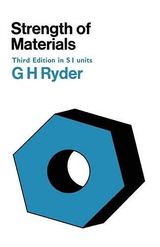 Strength of Materials by G.H. Ryder