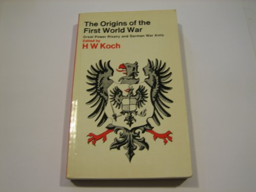 a description of the germany and the origins of the first world war The origins of the first and second world wars by frank mcdonough description an engaging range of the origins of the first world war, 1871-1914.