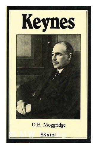 Keynes by Donald Moggridge
