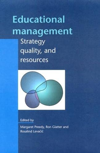 EDUCATIONAL MANAGEMENT by Margaret Preedy