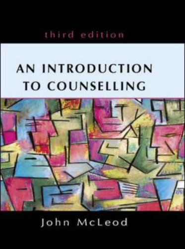 An Introduction to Counselling by John McLeod