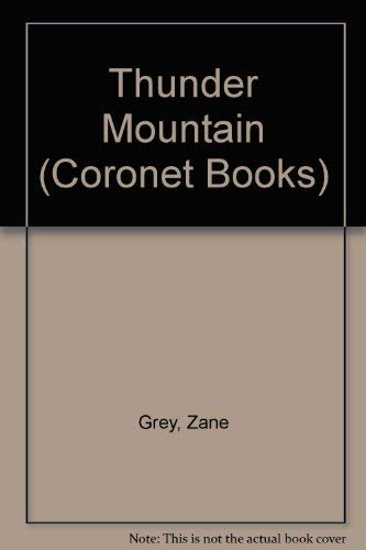 Thunder Mountain (Coronet Books)