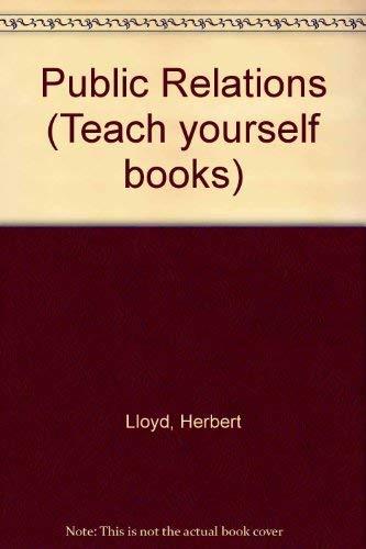 Public Relations by Herbert Lloyd