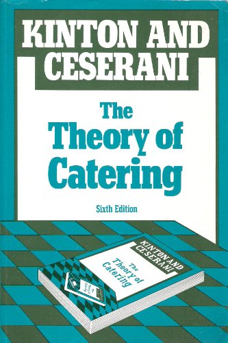 The Theory of Catering by Ronald Kinton