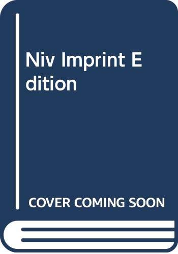 Niv Imprint Edition by