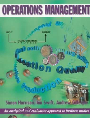 Operations Management by Ian Swift