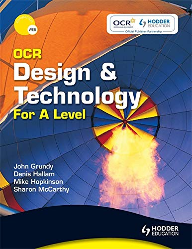 OCR Design and Technology for A Level by Sharon McCarthy