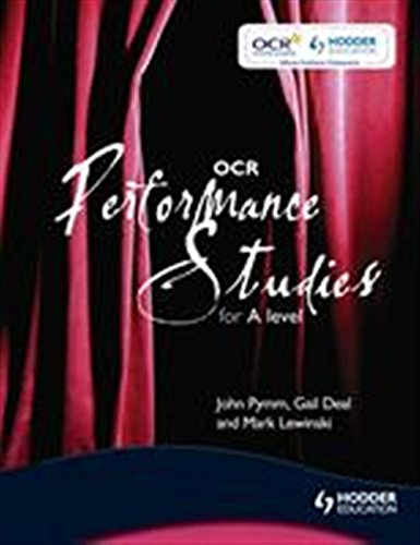 OCR Performance Studies for A Level by John Pymm