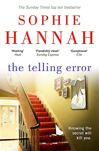 The Telling Error by Sophie Hannah