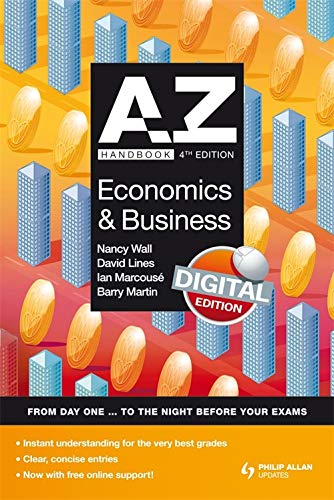 A-Z Economics and Business Handbook by Nancy Wall