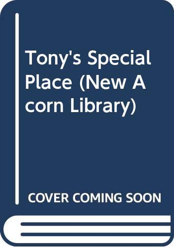Tony's Special Place by Margaret Potter