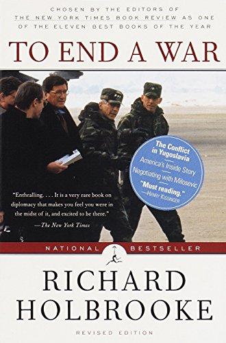 To End a War by Richard Holbrooke