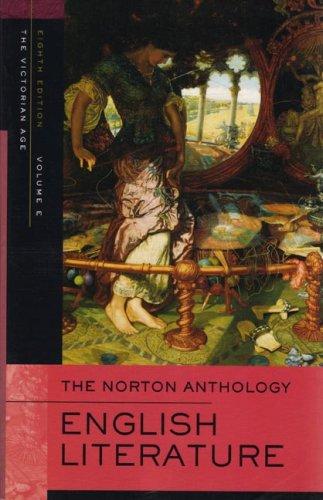 The Norton Anthology of English Literature: v. E: Victorian by Stephen Greenblatt