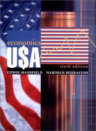 Economics U$A by Edwin Mansfield