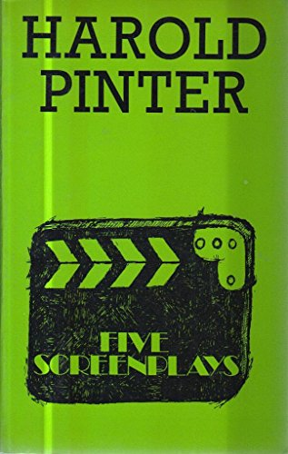 Five Screenplays by Harold Pinter