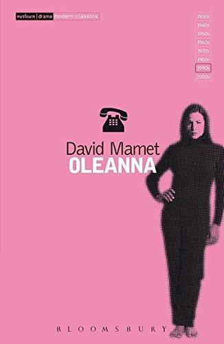 """Oleanna"" by David Mamet"