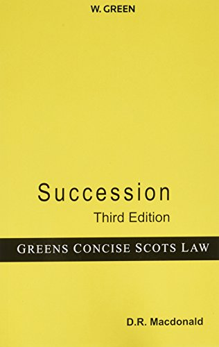 Succession by D.R. MacDonald