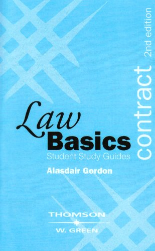 Contract Law Basics by Alasdair Gordon