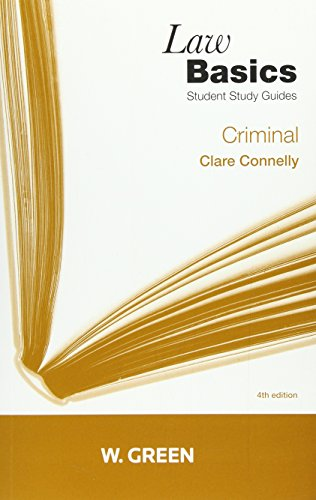 Criminal Lawbasics by Clare Connelly