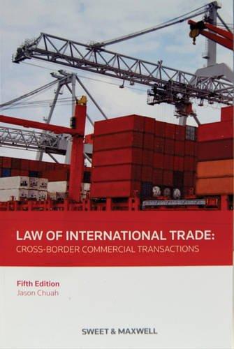 Law of International Trade by Jason Chuah